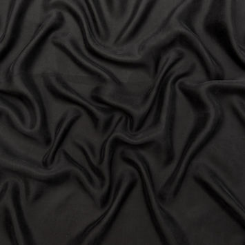 Black Cupro Twill Lining