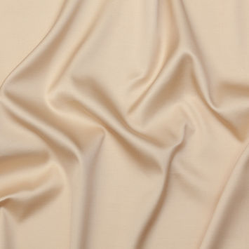 The Row Luminous Beige Silk and Wool Woven