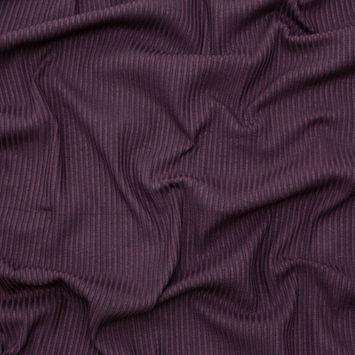 Brown 6x6 Stretch Rib Knit