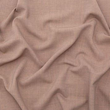 Italian Fawn Stretch Virgin Wool Suiting