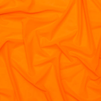 Neon Orange Stretch Power Mesh
