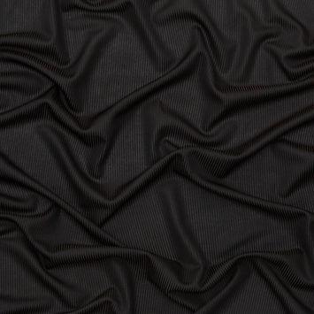 Rag & Bone Black 2 x 2 Rayon Rib Knit