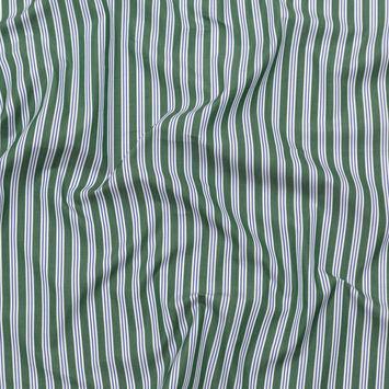 Rag & Bone Green, Blue and White Striped Cotton Poplin