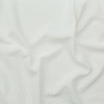Rag & Bone White Polyester Chiffon with Cotton Embroidered Circles