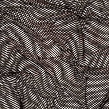 Brown Stretch Polyester Netting