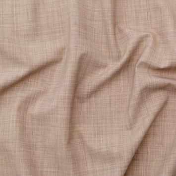 Italian Heather Hazel Stretch Wool Suiting