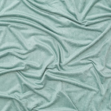 Mist Green Stretch Faux Ultrasuede Knit