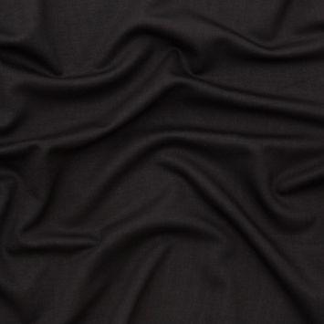 Italian Black Heavyweight Stretch Ponte Knit