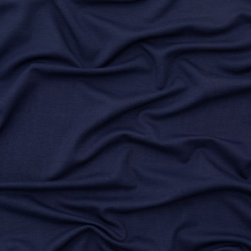 Italian Navy Heavyweight Stretch Ponte Knit