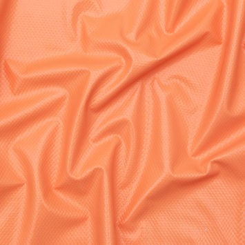 7db66cf5670d Italian Creamsicle Vinyl backed with Athletic Mesh Fashion Fabric.  17.99    Yard