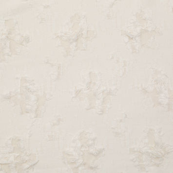 Milly Whisper White Novelty Distressed Cotton Woven