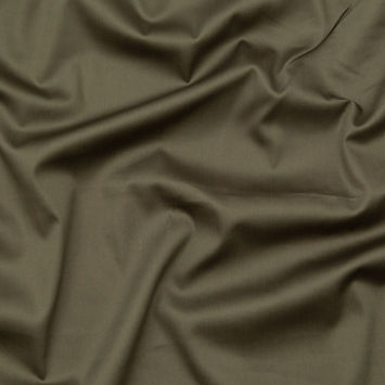 Theory Olive Stretch Cotton Sateen