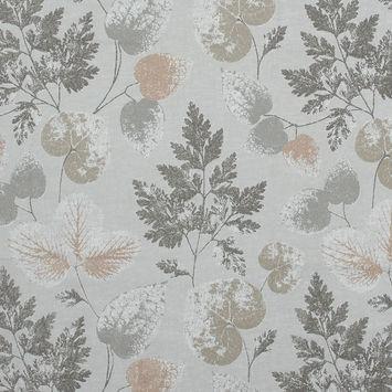 British Imported Smoke Foliage Printed Cotton Canvas