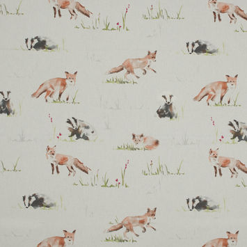 British Imported Fox Printed Cotton Canvas