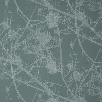 British Alpine Cotton Canvas with Printed Abstract Branches
