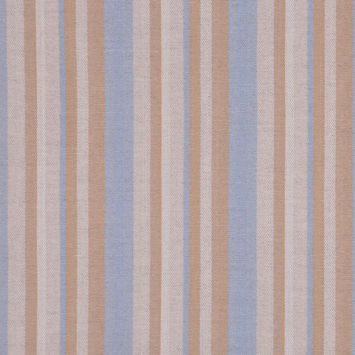 Powder Blue/Linen/Wheat Striped Suiting