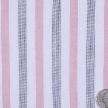 Airy Striped Cotton Batiste