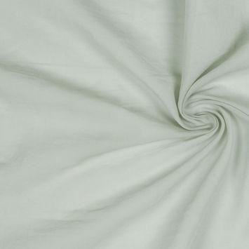 Pale Green Stretch Cotton Batiste