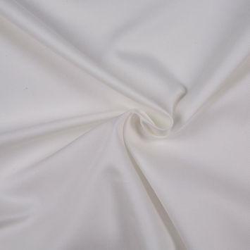 Winter White Solid Organic Cotton Twill