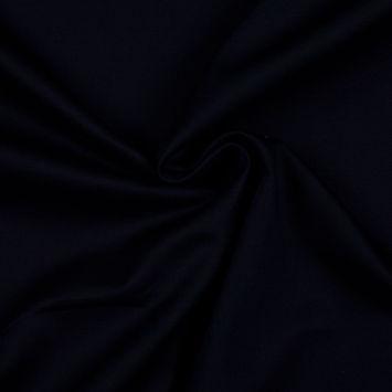 Black Solid Organic Cotton Twill