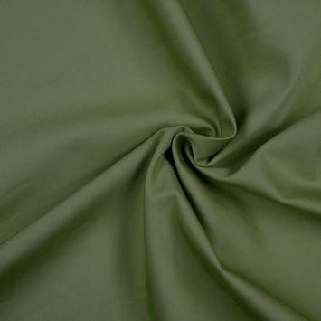 Olive Solid Organic Cotton Twill