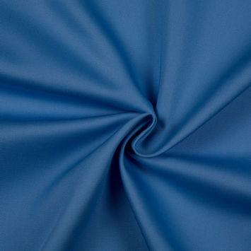 Ice Blue/White Solid Organic Cotton Twill