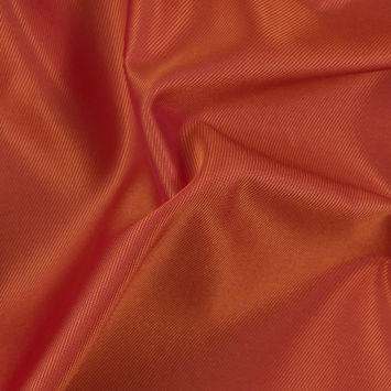 Fuchsia/Orange Iridescent Twill Lining