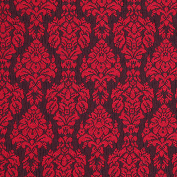 Red/Black Classical Woven