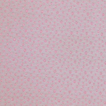 Italian Champagne and Pink Speckled Brocade