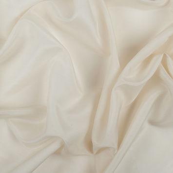 Ivory Silk/Cotton Voile