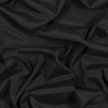 Black Stretch Washed Silk