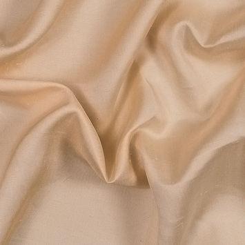 Caramel Cream Silk Shantung