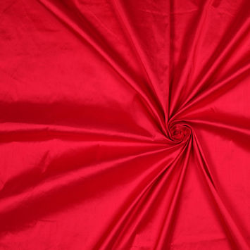 Roja Red Solid Shantung/Dupioni