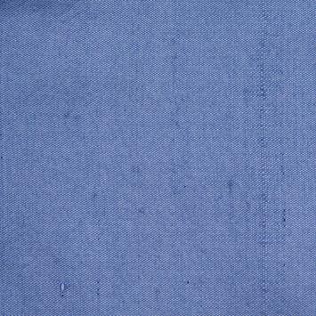 Sparta Blue Solid Shantung/Dupioni