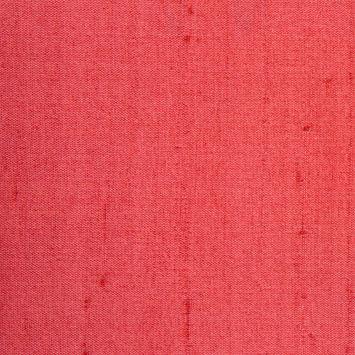 Bright Cranberry Solid Shantung/Dupioni