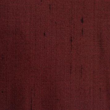 Bright Burgundy Solid Shantung/Dupioni