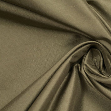 Capulet Olive Silk Shantung/Dupioni