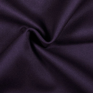 Royal Purple Double Cloth Wool Twill