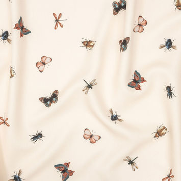 Mood Exclusive Butterfly Effect Stretch Polyester Crepe