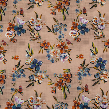 Mood Exclusive New Americana Beige Cotton Voile
