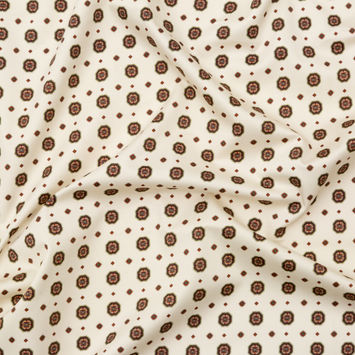 Mood Exclusive Gemstone Carnations Stretch Cotton Sateen