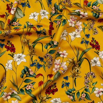Mood Exclusive Mediterranean Dreams Stretch Cotton Sateen