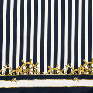 Mood Exclusive Anchors Ahoy Stretch Cotton Sateen