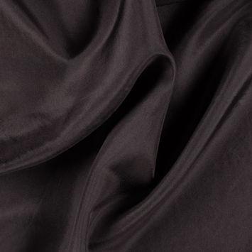 Dark Brown China Silk/Habotai