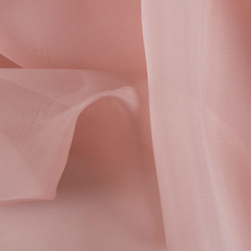 Blush Silk Organza