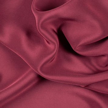 Wine Silk 4-Ply Crepe