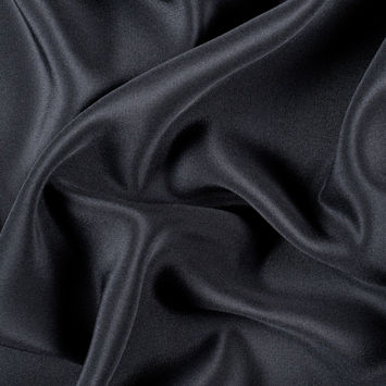 Black Silk 4-Ply Crepe