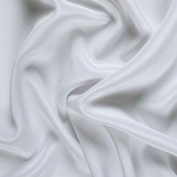 Bright White Wide Silk 4-Ply Crepe