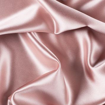 Blush Silk Crepe Back Satin