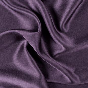 Blackberry Silk Crepe Back Satin